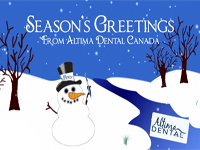 Seasons Greetings from Altima Dental